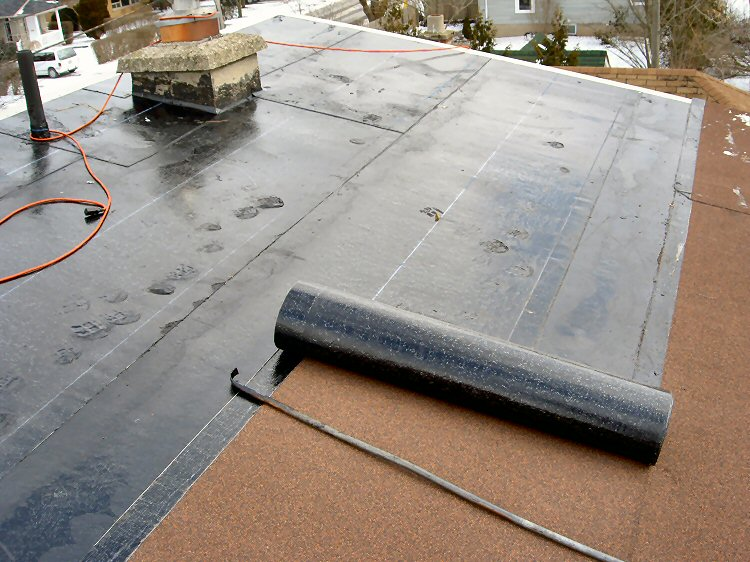 Flat Roofing Before Amp After Pictures All Pro